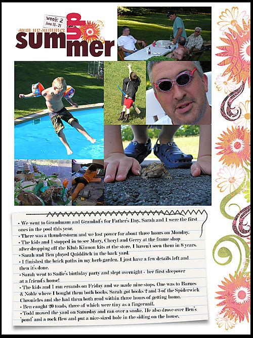 Sum up summer album week 2