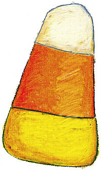 Candycorn small