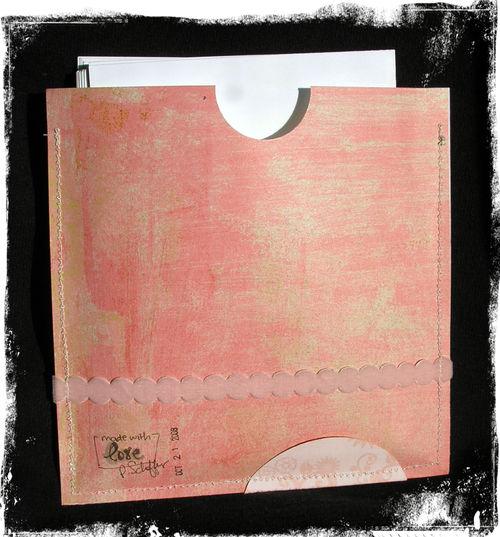 Shower envelope back