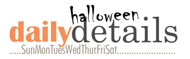Daily halloween details logo