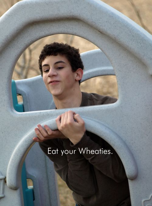 Eat your wheaties