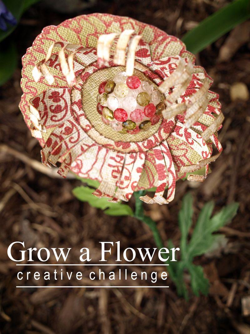Grow a flower creative challenge