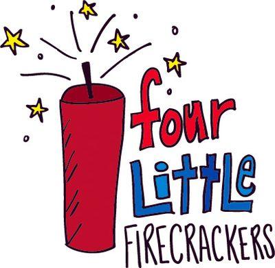 Four firecrackers
