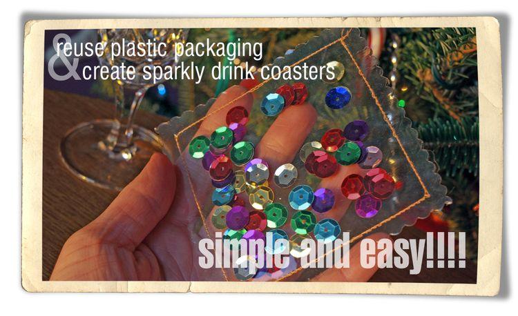 Holiday drink coaster main photo