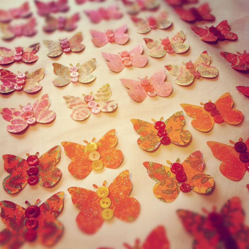 Butterfly assembly line