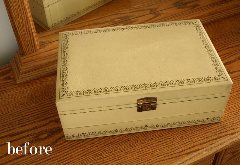 Before jewelry box