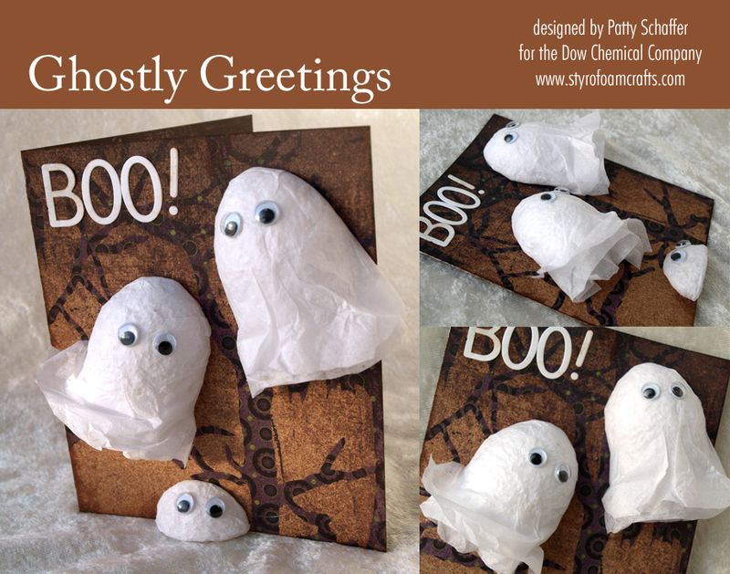 Ghostly greeting