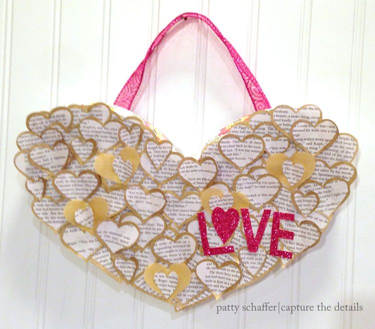 Love letters valentines day wall hanging