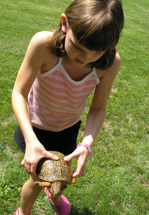 Sarah_and_turtle